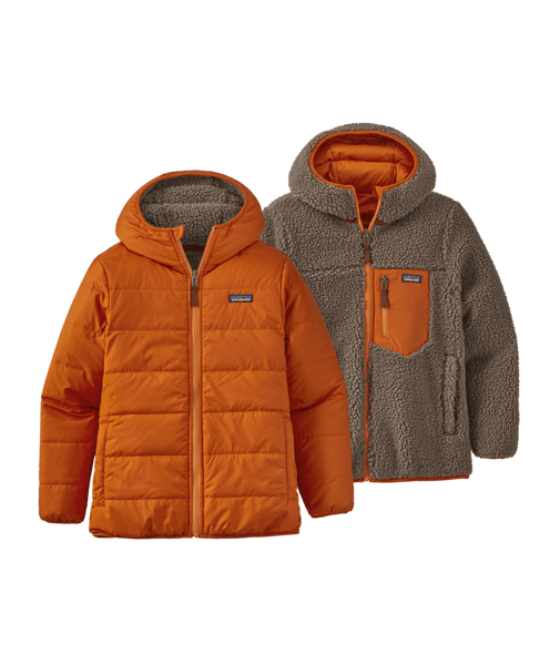 Patagonia Boys Reversible Ready Freddy Hoody Desert Orange