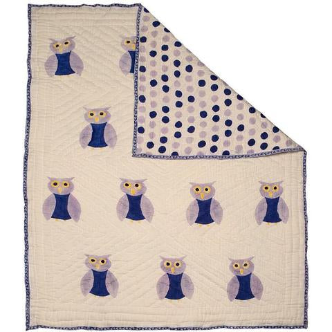 Naaya By Moonlight Owl Quilt