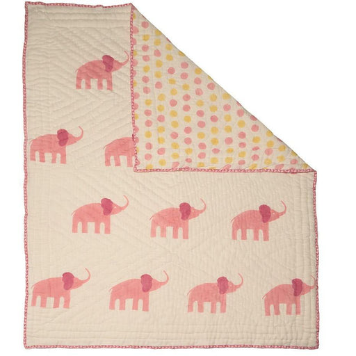 Naaya By Moonlight Elephant Quilt