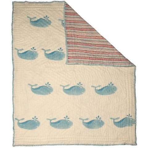 Naaya By Moonlight Whale Quilt