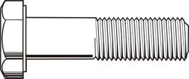 Metric Class 8.8 Cap Screw Coarse