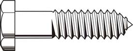 Hex Lag Screw Hot Dipped Galvanized