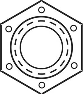 Grade C Locknut Nationa Fine