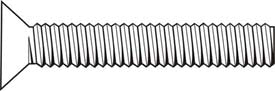 Stainless Steel Machine Screw, Phillips Flat Head