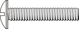 Machine Screw Truss Head, Slotted