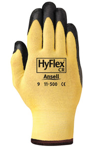 Ansell Ansell HyFlex Yellow Cut-Resistant Gloves (12 PAIR)