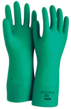 Ansell Sol-Vex Unsupported Nitrile Gloves Green (12 PAIR)