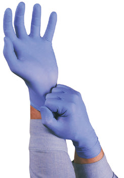Ansell TNT Blue Disposable Gloves Powedered (10 PACK)