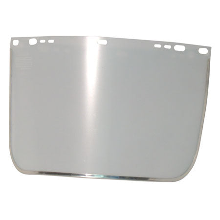 9 in. X 15.5 in. ALUMINUM BOUND VISOR FOR ANCHOR HEADGEAR (10 PACK)