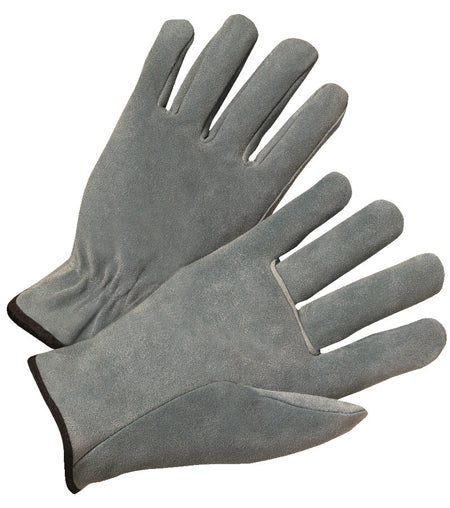 Anchor 4000 Series Cowhide Leather Drivers Gloves Pearl Gray (12 PAIR)
