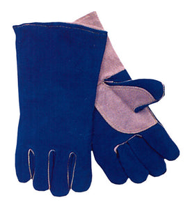 Anchor Blue Quality Welding Gloves w/ COMFOflex (12 PAIR)