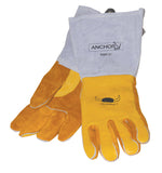 Anchor Gold Cowhide Premium Welding Gloves MED (12 PAIR)