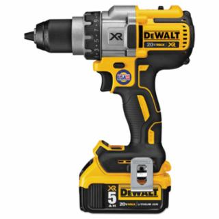 20V MAX XR Lithium Ion Brushless Drill/Driver Kit, 1/2 in Chuck, Spotlight Mode