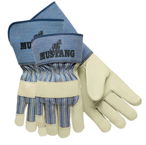 Mustang Grain Leather Palm Gloves (12 PAIR)