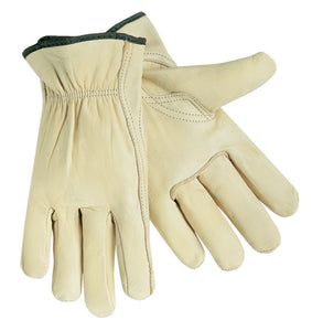Select Grade Cowhide Unlined Drivers Gloves (12 PAIR)