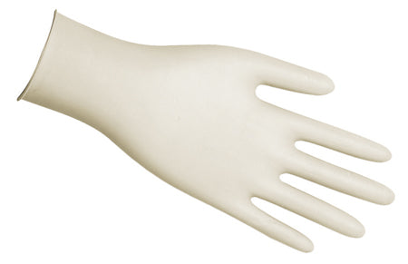 Disposable Powdered Vinyl/Latex Gloves Sanitation/Food Service (100 Pack)