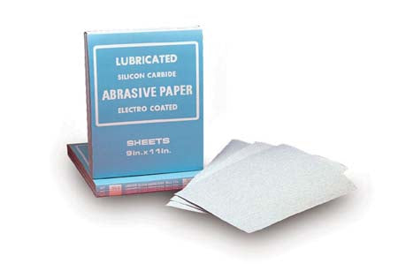 9X11 SILICON CARBIDE NO-LOAD FINISHING PAPER SHEETS
