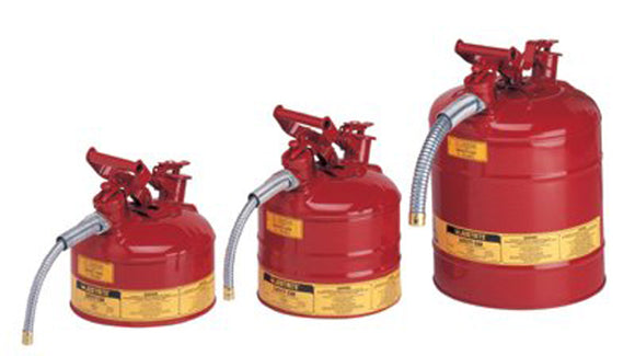 1 Gallon/4L IIAF Red Safety Can 5/8 Hose