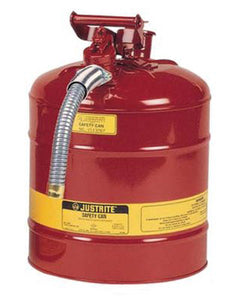 "5 Gallon/19L IIAF Red Safety Can 1"" Hose"