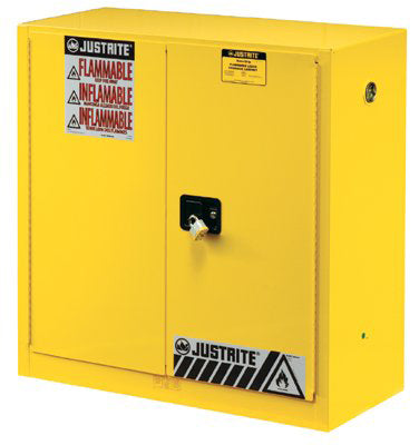 45 Gallon Yellow Safety Cabinets for Flammables