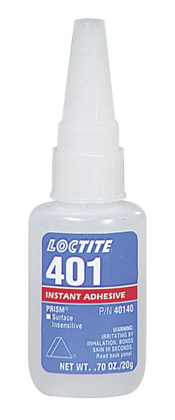 401 PRISM INSTANT ADHESIVE, SURFACE INSENSITIVE