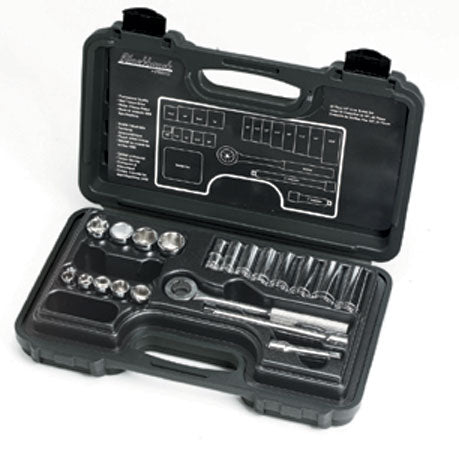 20 Piece Deep and Standard Socket Set, 3/8 in, 12 Point # 3820-S
