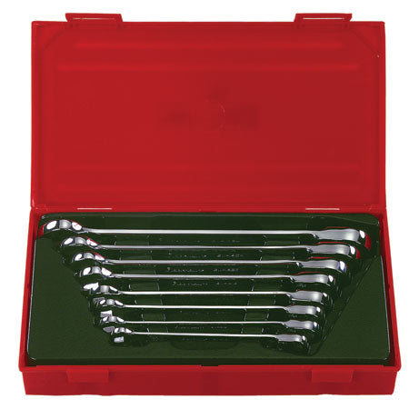 8 Pc. REVERSIBLE GEAR RATCHETING WRENCH SET PART # BW-1400