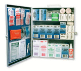 PAC-KIT® 3-Shelf Industrial First Aid Station w/ Eye Cleaners (1 Kit)