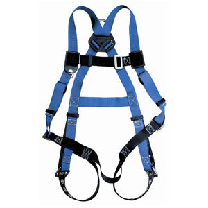 Contractor 1-D Full Body Harness with Tongue Buckle Leg Straps