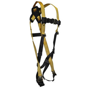 Journeyman Full Body Harness 1-D Quick-Connect Legs/Chest