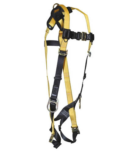 Journeyman Full Body Harness 3-D Quick-Connect Legs/Chest