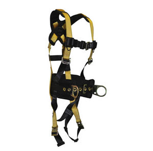 Journeyman Full Body Harness 3-D Construction Quick-Connect Legs/Chest
