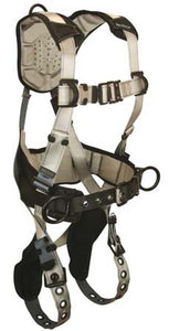 FlowTech Series Harness 3 D-Rings Tongue Buckle Legs and Quick Connect Chest - 7088