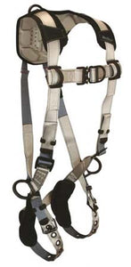 FlowTech Series Harness 4 D-Rings Tongue Buckle Legs and Quick Connect Chest - 7091FD