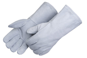 WELDERS GLOVE PREMIUM GRAY - 3 DZ/BOX #7250