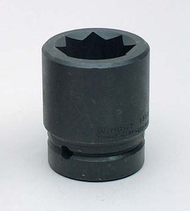 "1"" Dr. 8 Pt. Double Square Impact (Railroad) Sockets"