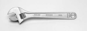 Adjustable Wrench Chrome Finish