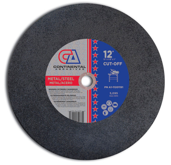 TYPE 1 STATIONARY & ELECTRIC PORTABLE SAW WHEELS (FOR METAL)