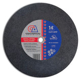 TYPE 1 LOW HORSE POWER CHOP SAW WHEELS (FOR METAL)