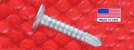 BI-FLEX SELF-DRILLING SCREWS (PHILLIPS FLAT UNDERCUT HEAD) Bulk