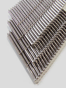 304 Stainless Steel Wire 28° Clipped Head Ring Shank Decking Nails