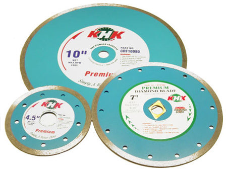 CONTINUOUS RIM TILE BLADES (WET)