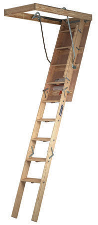 Wood Attic Ladder Champion Series