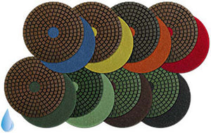 "MK Polishing Discs- 4"" Professional Resin"