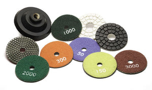 "3"" DIAMOND WET POLISHING PAD"