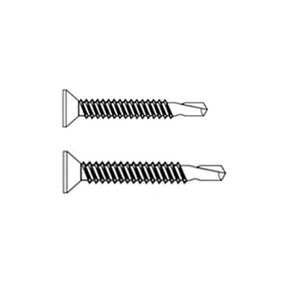 Phillips Flat Head Zinc Plated Self Drilling Screw