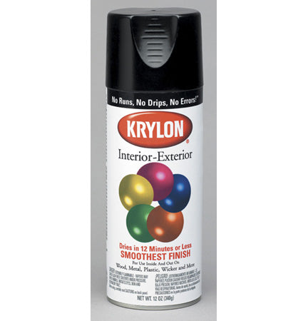 Krylon Industrial 5-Ball Interior/Exterior Crystal Clear Coating Gloss
