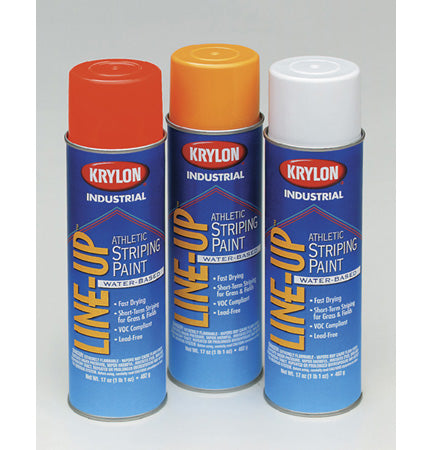 Krylon Industrial Line-Up Water-Based Athletic Field Striping Paint