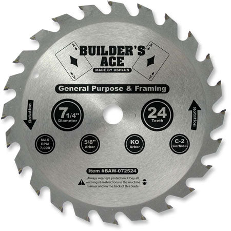Builder's Ace Saw Blade (PACK OF 50 BLADES)