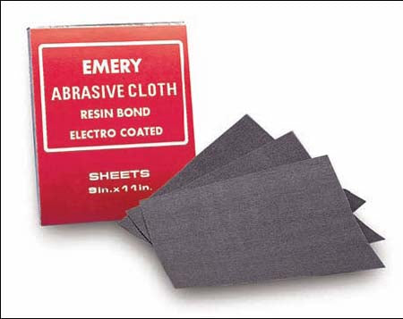 9X11 EMERY CLOTH SHEETS